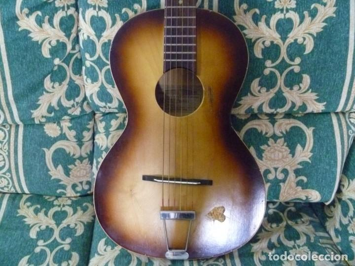 ANTIGUA GUITARRA PARLOR FRAMUS (Música - Instrumentos Musicales - Guitarras Antiguas)