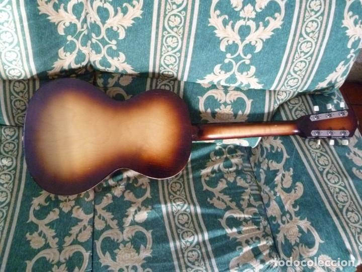 Instrumentos musicales: Antigua guitarra parlor Framus - Foto 5 - 219884821