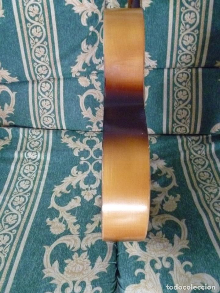 Instrumentos musicales: Antigua guitarra parlor Framus - Foto 6 - 219884821