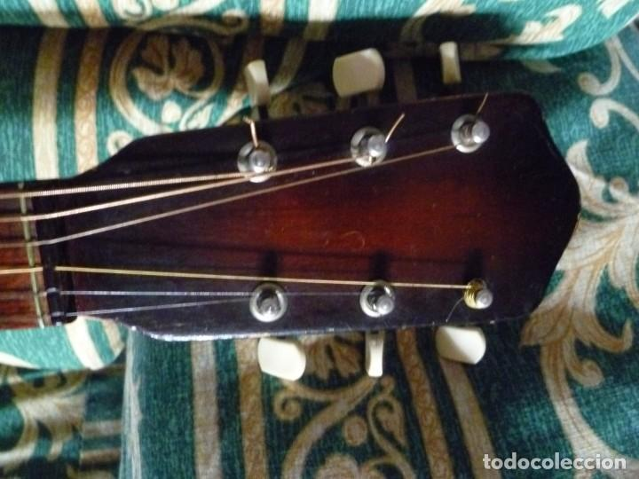 Instrumentos musicales: Antigua guitarra parlor Framus - Foto 7 - 219884821