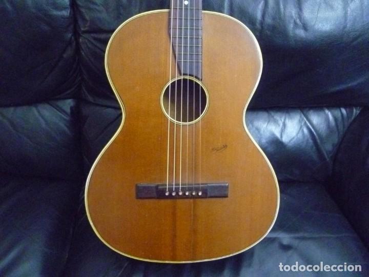 GUITARRA CENTENARIA ALEMANA TON MEISTER (Música - Instrumentos Musicales - Guitarras Antiguas)