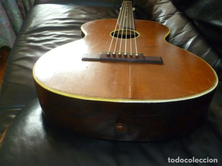 Instrumentos musicales: Guitarra centenaria alemana Ton Meister - Foto 5 - 219886173