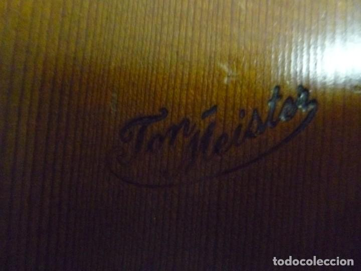 Instrumentos musicales: Guitarra centenaria alemana Ton Meister - Foto 6 - 219886173