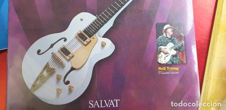 Instrumentos musicales: GUITARRA-COLECCIONISTA-NEIL YOUNG-TAMAÑO-VER FOTOS-COLECCIONABLE-SALVAT-CLASICO-CON FASCICULO - Foto 8 - 219960802