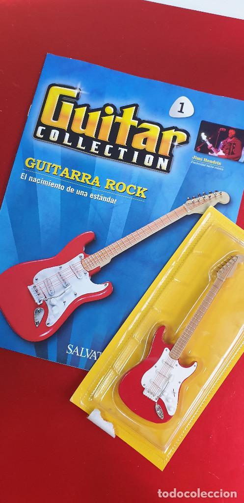 Instrumentos musicales: GUITARRA-COLECCIONISTA-JIMI HENDRIX-TAMAÑO-VER FOTOS-COLECCIONABLE-SALVAT-CLASICO-CON FASCICULO - Foto 24 - 219960978
