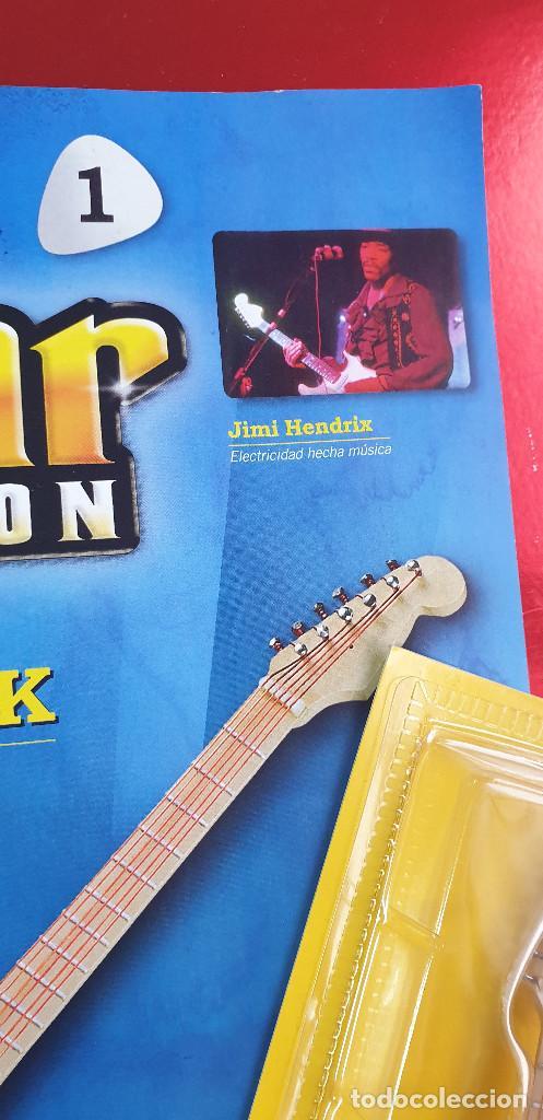 Instrumentos musicales: GUITARRA-COLECCIONISTA-JIMI HENDRIX-TAMAÑO-VER FOTOS-COLECCIONABLE-SALVAT-CLASICO-CON FASCICULO - Foto 2 - 219960978