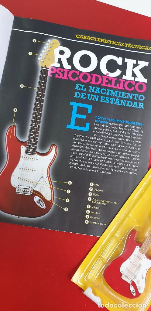 Instrumentos musicales: GUITARRA-COLECCIONISTA-JIMI HENDRIX-TAMAÑO-VER FOTOS-COLECCIONABLE-SALVAT-CLASICO-CON FASCICULO - Foto 7 - 219960978