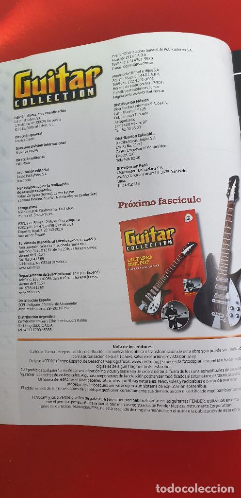 Instrumentos musicales: GUITARRA-COLECCIONISTA-JIMI HENDRIX-TAMAÑO-VER FOTOS-COLECCIONABLE-SALVAT-CLASICO-CON FASCICULO - Foto 8 - 219960978