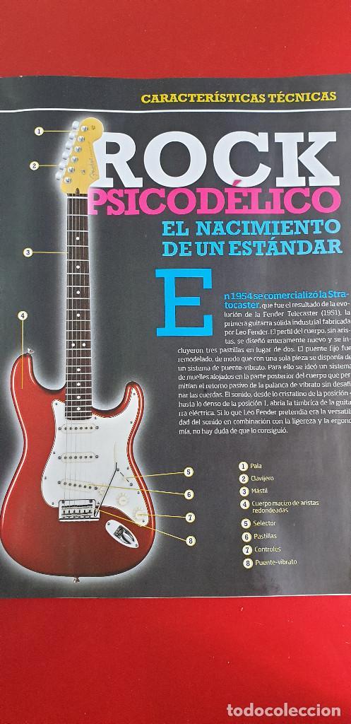 Instrumentos musicales: GUITARRA-COLECCIONISTA-JIMI HENDRIX-TAMAÑO-VER FOTOS-COLECCIONABLE-SALVAT-CLASICO-CON FASCICULO - Foto 15 - 219960978