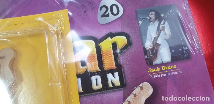 Instrumentos musicales: GUITARRA-COLECCIONISTA-JACK BRUCE-TAMAÑO-VER FOTOS-COLECCIONABLE-SALVAT-CLASICO-CON FASCICULO - Foto 9 - 219961616