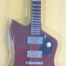 Instrumentos musicales: GUITARRA-COLECCIONISTA-BILLY GIBBONS-TAMAÑO-VER FOTOS-COLECCIONABLE-SALVAT-CLASICO-CON FASCICULO. Lote 219961773