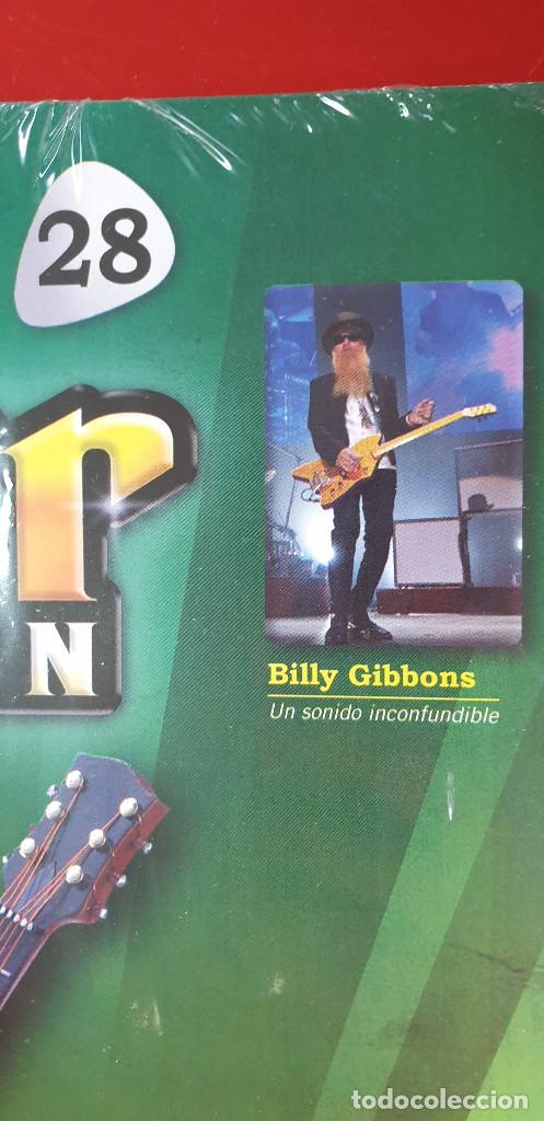 Instrumentos musicales: GUITARRA-COLECCIONISTA-BILLY GIBBONS-TAMAÑO-VER FOTOS-COLECCIONABLE-SALVAT-CLASICO-CON FASCICULO - Foto 2 - 219961773