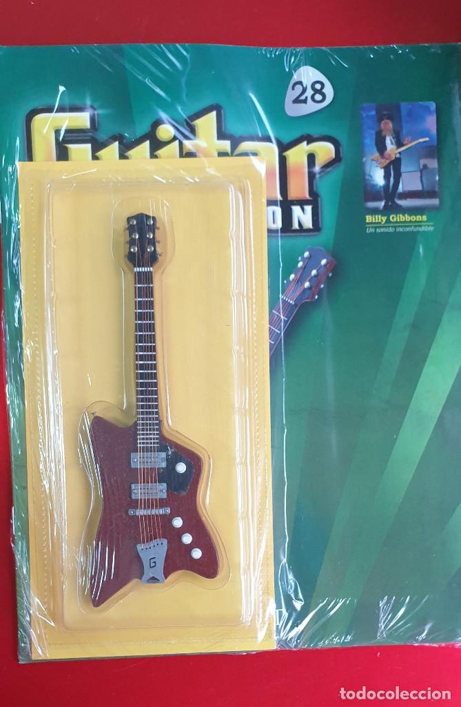 Instrumentos musicales: GUITARRA-COLECCIONISTA-BILLY GIBBONS-TAMAÑO-VER FOTOS-COLECCIONABLE-SALVAT-CLASICO-CON FASCICULO - Foto 4 - 219961773