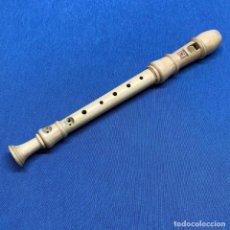 Instrumentos musicales: ANTIGUA FLAUTA MADERA DULCE SOPRANO HOHNER AÑOS 60. Lote 220095908