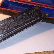 Instrumentos musicales: ARMONICA SUPER CHROMONICA. AÑOS 60. MUY BIEN CONSERVADA Y FUNCIONANDO. DESCRIPCION Y FOTOS.. Lote 220162591