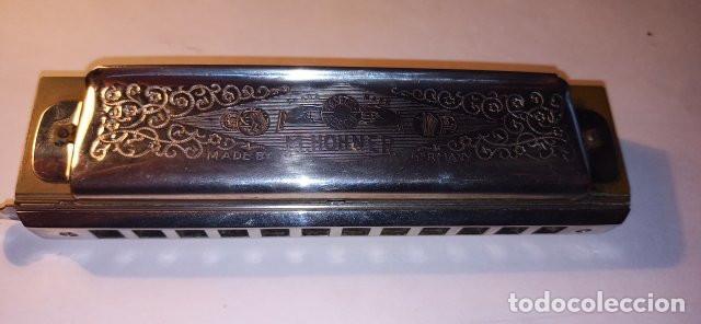 Instrumentos musicales: ARMONICA SUPER CHROMONICA. AÑOS 60. MUY BIEN CONSERVADA Y FUNCIONANDO. DESCRIPCION Y FOTOS. - Foto 2 - 220162591