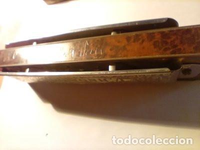 Instrumentos musicales: ARMONICA SUPER CHROMONICA. AÑOS 60. MUY BIEN CONSERVADA Y FUNCIONANDO. DESCRIPCION Y FOTOS. - Foto 3 - 220162591