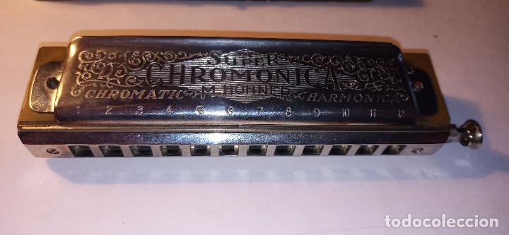 Instrumentos musicales: ARMONICA SUPER CHROMONICA. AÑOS 60. MUY BIEN CONSERVADA Y FUNCIONANDO. DESCRIPCION Y FOTOS. - Foto 12 - 220162591