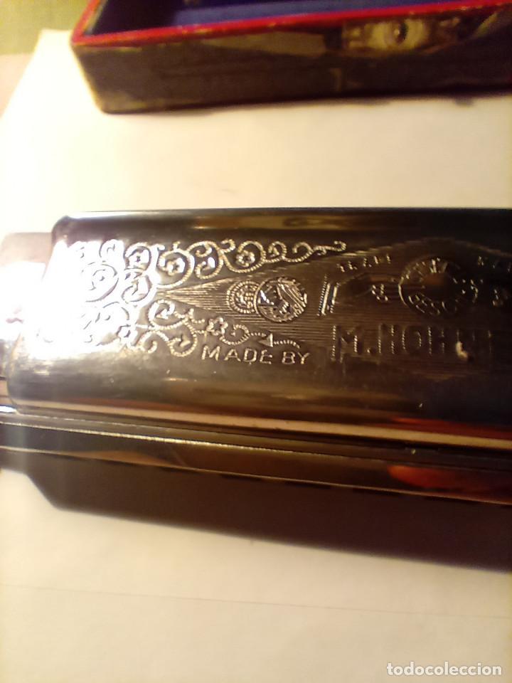 Instrumentos musicales: ARMONICA SUPER CHROMONICA. AÑOS 60. MUY BIEN CONSERVADA Y FUNCIONANDO. DESCRIPCION Y FOTOS. - Foto 15 - 220162591