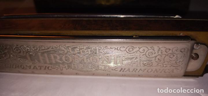 Instrumentos musicales: ARMONICA SUPER CHROMONICA. AÑOS 60. MUY BIEN CONSERVADA Y FUNCIONANDO. DESCRIPCION Y FOTOS. - Foto 17 - 220162591