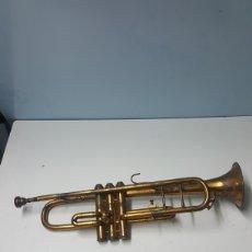Instrumentos Musicais: ANTIGUA TROMPETA VINCENT BACH 7C PARA REPARA VALVULAS.51 CM LARGO. Lote 220616966