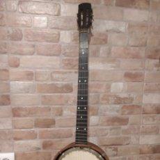 Instrumentos Musicais: GUITARRA BANJO 5 CUERDAS IRLANDES AÑO 1940-50. Lote 220715736