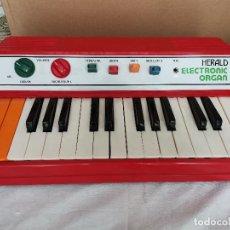 Instrumentos musicales: RAREZA COLECCIONISTAS ANTIGUO ORGANO PIANO ELECTRONICO HERALD AÑOS 80 TIPO CASIO NO CASIOTONE. Lote 220727791