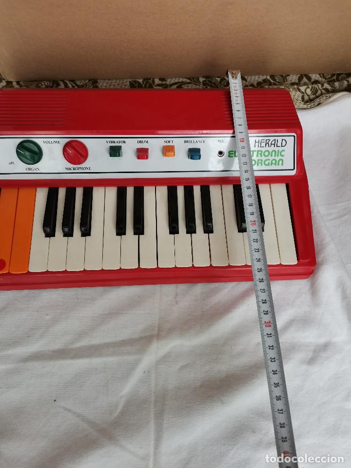 Instrumentos musicales: rareza coleccionistas antiguo Organo piano electronico HERALD años 80 Tipo Casio no Casiotone - Foto 3 - 220727791