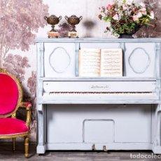 Instrumentos musicales: PIANO ANTIGUO RESTAURADO LOCHMANN & Cº. Lote 220795917