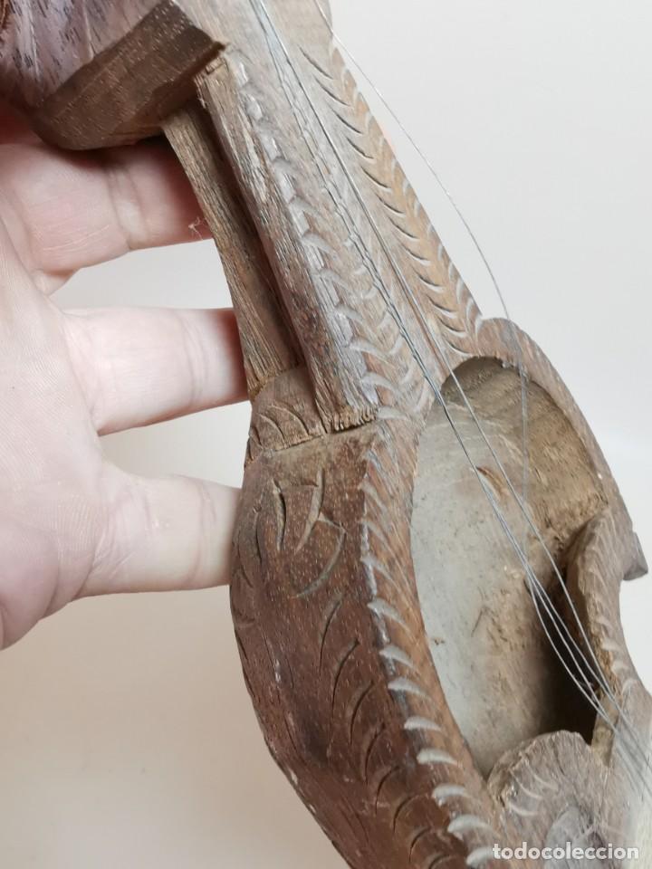Instrumentos musicales: ANTIGUO RABEL ARTESANAL-HOMEMADE..ARTE PASTORIL- PASTOR - Foto 16 - 220828776