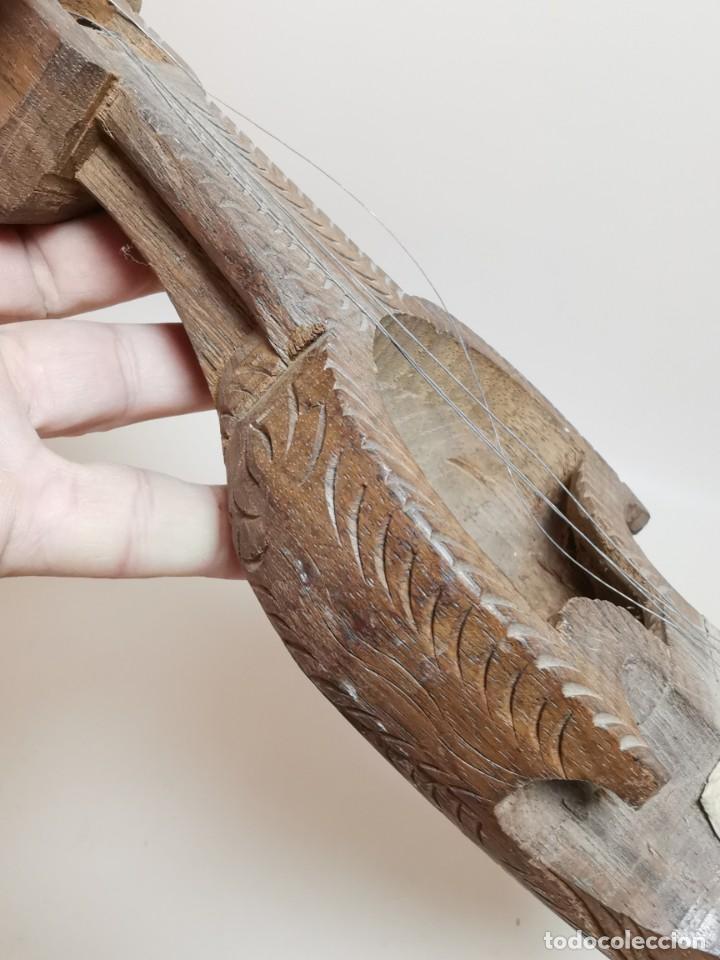 Instrumentos musicales: ANTIGUO RABEL ARTESANAL-HOMEMADE..ARTE PASTORIL- PASTOR - Foto 17 - 220828776