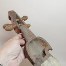 Instrumentos musicales: ANTIGUO RABEL ARTESANAL-HOMEMADE..ARTE PASTORIL- PASTOR. Lote 220828776