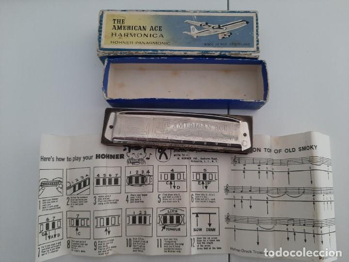 Instrumentos musicales: HARMONICA HOHNER THE AMERICAN ACE - Foto 1 - 220872355