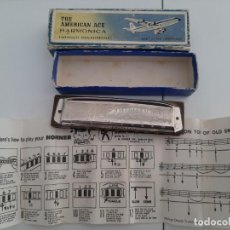 Instrumentos musicales: HARMONICA HOHNER THE AMERICAN ACE. Lote 220872355