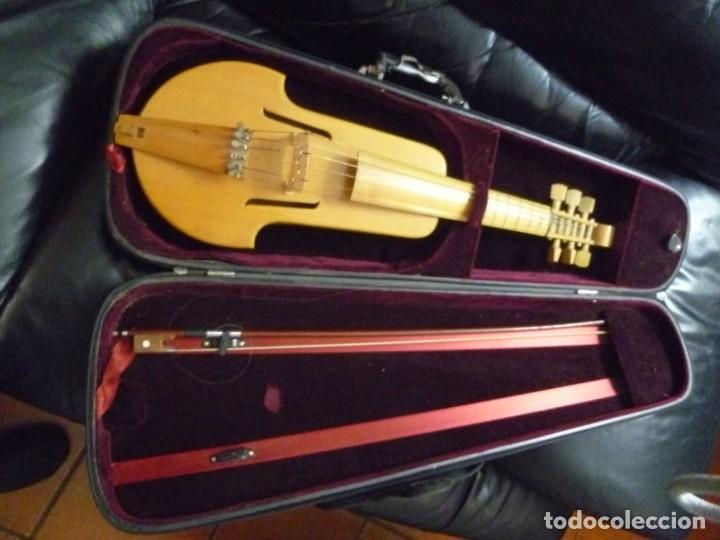 VIOLA DA GAMBA ALEMANA SOPRANO (Música - Instrumentos Musicales - Cuerda Antiguos)