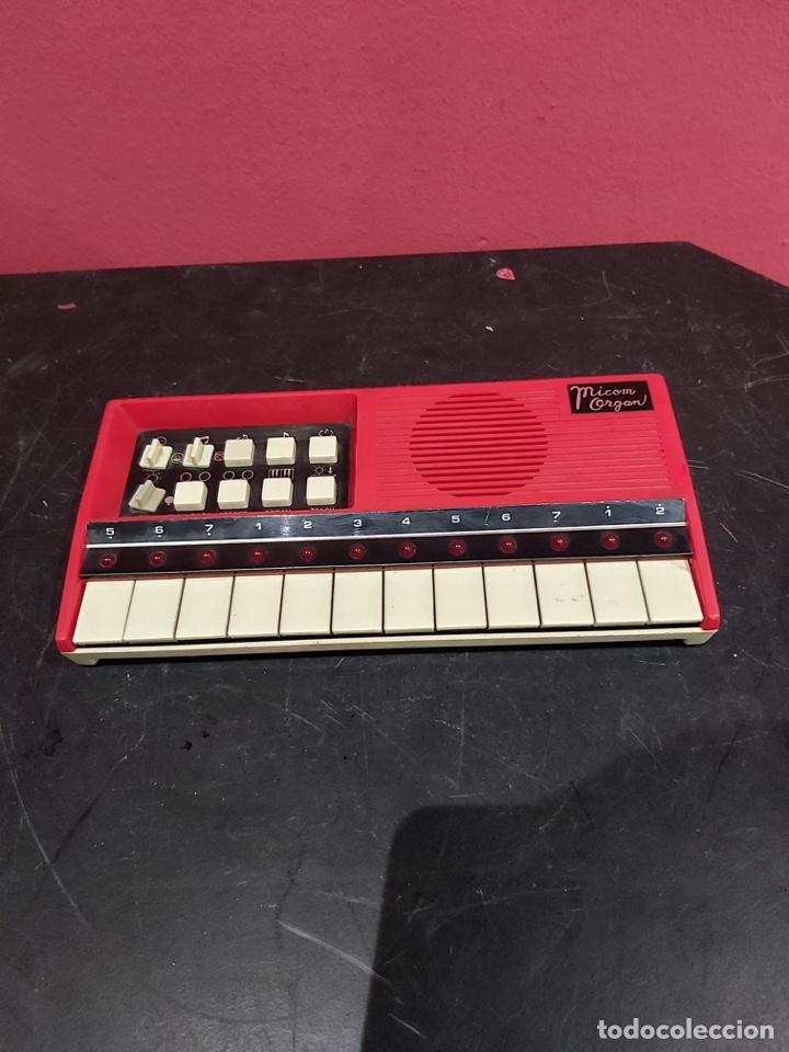Instrumentos musicales: Antiguo piano micom organ . Ver las imágenes - Foto 3 - 221246253