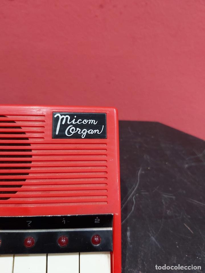 Instrumentos musicales: Antiguo piano micom organ . Ver las imágenes - Foto 4 - 221246253