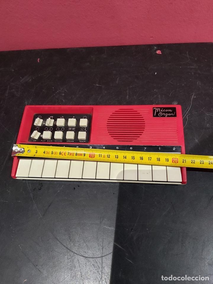 Instrumentos musicales: Antiguo piano micom organ . Ver las imágenes - Foto 6 - 221246253