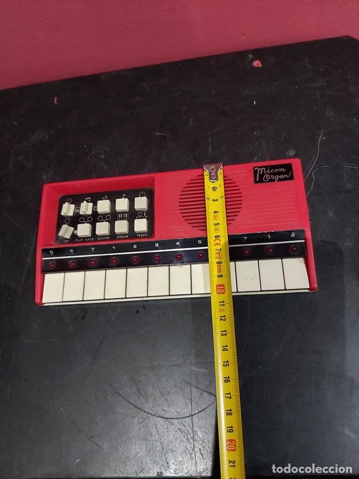 Instrumentos musicales: Antiguo piano micom organ . Ver las imágenes - Foto 10 - 221246253