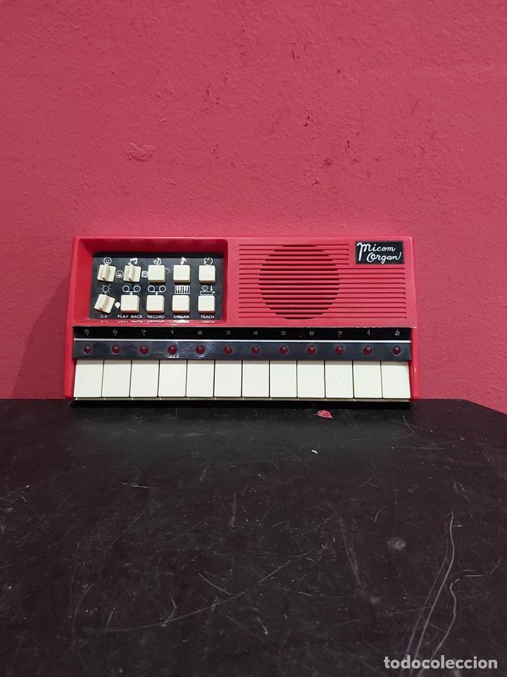 ANTIGUO PIANO MICOM ORGAN . VER LAS IMÁGENES (Música - Instrumentos Musicales - Pianos Antiguos)