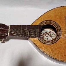 """Instrumentos musicales: BANDURRIA ANTIGUA 12 CUERDAS """" BANDURRIAS Y LAUDES VICENTE TATAY TOMAS"""" - VALENCIA. Lote 221266901"""