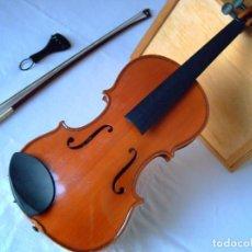 Instrumentos musicales: VIOLÍN 3/4. ADJUNTO FOTOS VIOLÍN 4/4 LEON BERNALDEL PARÍS 1899 Q TAMB. TENGO EN VENTA; LEER... Lote 221304108