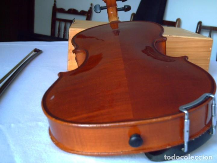 Instrumentos musicales: Violín 3/4 (56 cms.), con arco y estuche. En perfecto estado. - Foto 9 - 221304108