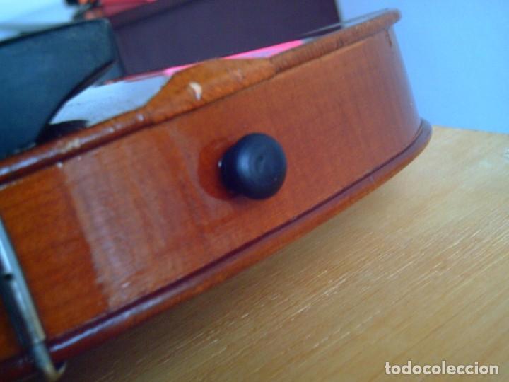 Instrumentos musicales: Violín 3/4 (56 cms.), con arco y estuche. En perfecto estado. - Foto 11 - 221304108