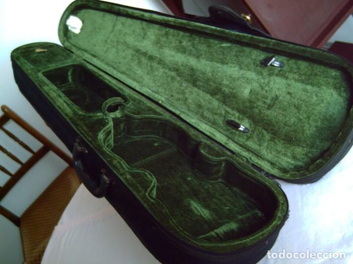 Instrumentos musicales: Violín 3/4 (56 cms.), con arco y estuche. En perfecto estado. - Foto 12 - 221304108