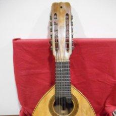 Instrumentos musicales: ANTIGUA BANDURRIA - JOSE RAMIREZ MADRID - AÑO 1952 - MADERA PALOSANTO DE RIO -. Lote 221384681