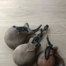 Instrumentos musicales: CASTAÑUELAS DE MADERA ANTIGUAS. Lote 221467325