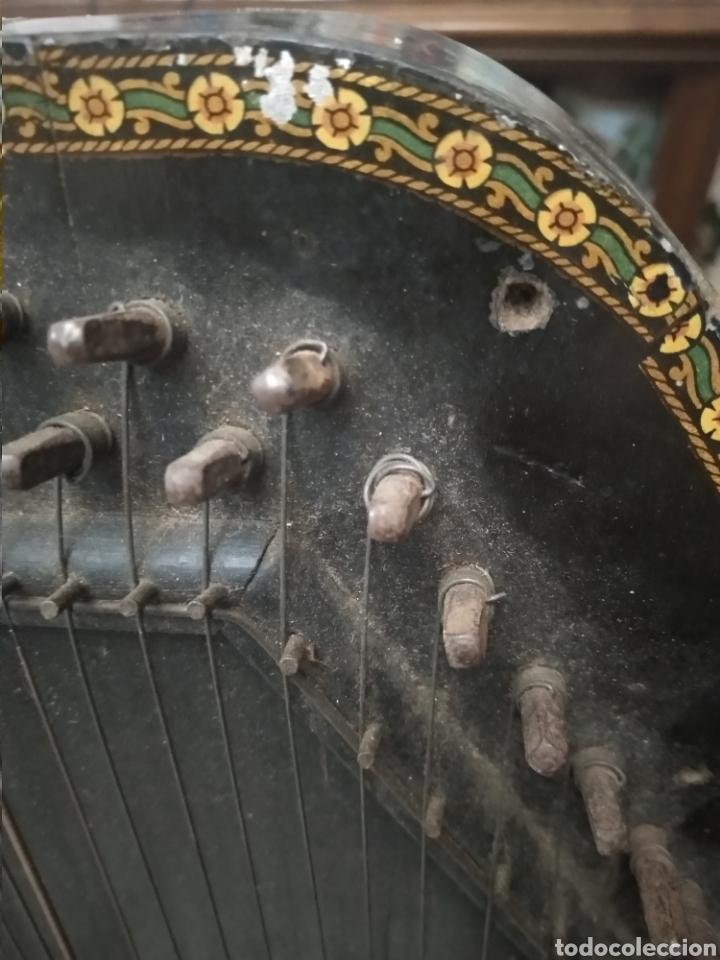 Instrumentos musicales: MUY ANTIGUA CITARA - Foto 7 - 221512537
