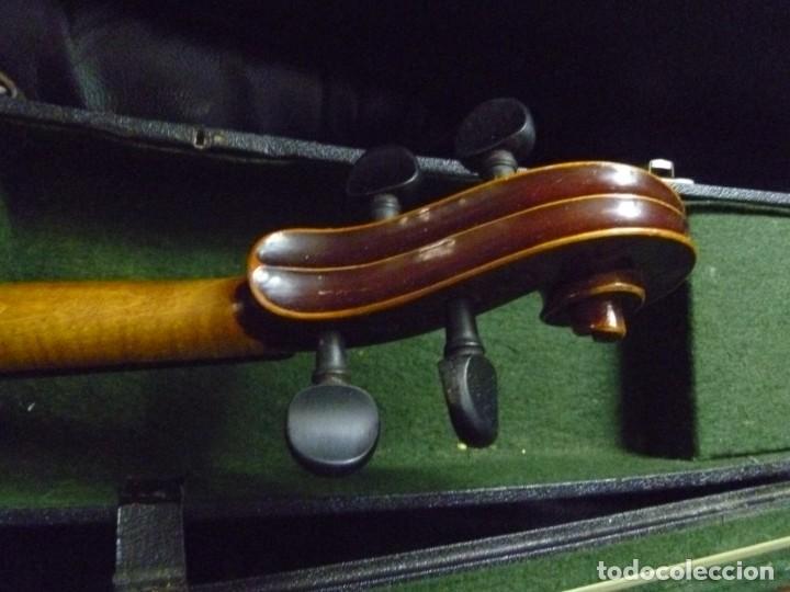 Instrumentos musicales: Antiguo violín 4x4 etiqueta Antonio Stradivarius - Foto 5 - 221554087