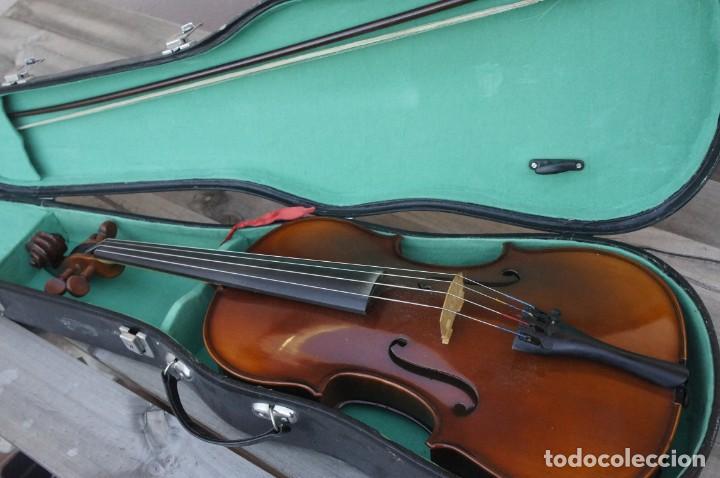 VIOLA 4/4 DE LUTHIER CONSTRUIDA ARTESANAL. AÑOS 80 (Música - Instrumentos Musicales - Cuerda Antiguos)